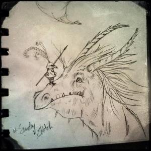 Sunday Sketch 7 - Terry Whidborne